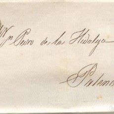 Sellos: AÑO 1856 EDIFIL 48 ISABEL II CARTA MATASELLOS RUEDA DE CARRETA 20 BILBAO MEMBRETE MAXIMO DE AGUIRRE. Lote 156692578