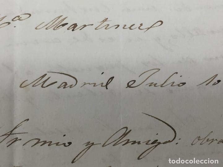 Sellos: carta de burgos villarcayo a madrid 1852 isabel II rojo transporte por galera mercancias 22x16cms - Foto 12 - 158223638
