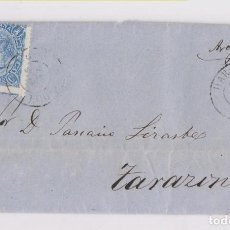 Sellos: CARTA ENTERA. HARO, RIOJA. 1865. FECHADOR. Lote 158805474