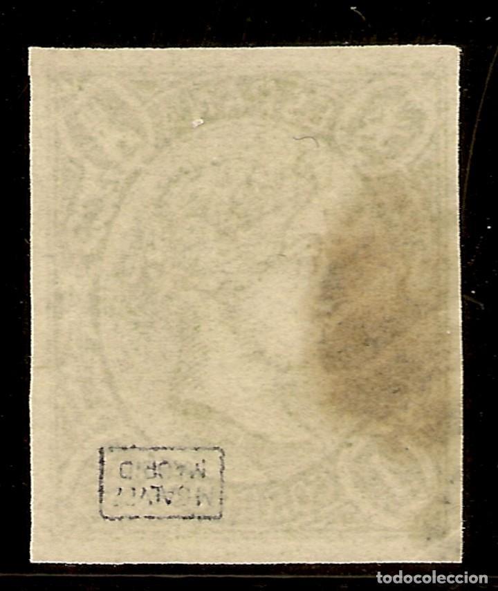 Sellos: España Edifil 72(º) 1 Real Verde Isabel II 1865 NL927 - Foto 2 - 159793330