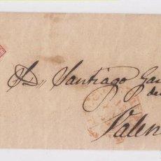 Sellos: ENVUELTA. DE CASTELLÓN A VALENCIA. 1854. Lote 159796730
