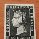 Sellos: ESPAÑA : N°1 FALSO CON GOMA. Lote 160105865
