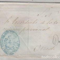 Sellos: SOBRE CON MATASELLO DEL AL ALCALDÍA CONSTITUCIONAL DE CASTROPOL. . Lote 163060798