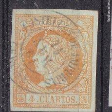 Sellos - VV14-Clásicos Edifil 52. Usado CASTELLON de AMPURIAS Gerona - 164359886
