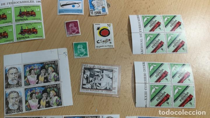 Sellos: Gran lote de sellos sin uso, muy botitos - Foto 8 - 167714708