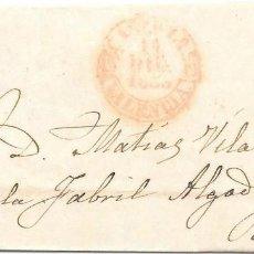 Sellos: 1853. SEIS CUARTOS. ENVUELTA CIRCULADA DE CASTELLON A REUS.. Lote 169818308