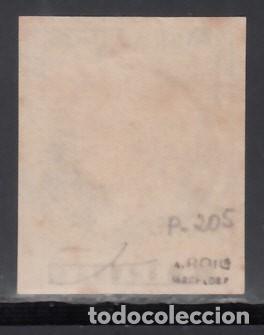 Sellos: ESPAÑA, 1860 ISABEL II. PRUEBA DE PUNZÓN, GALVEZ Nº 205, RARO - Foto 2 - 171142124