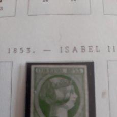 Sellos: 1853 ISABEL II EDIFIL N 20 NUEVO. Lote 171159183