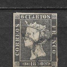 Sellos: ESPAÑA 1850 EDIFIL 1A USADO - 6/2. Lote 171231730