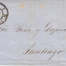 Sellos: SELLO 58. ISABEL II : BARCELONA A SANTIAGO. 1862.. Lote 171359082