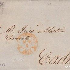 Sellos: SELLO 24. ESCUDO DE ESPAÑA. MADRID A CADIZ.1854.. Lote 172006535