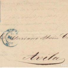 Sellos: SELLO 40 : ISABEL II: MADRID A AVILA. 1855.. Lote 172020182