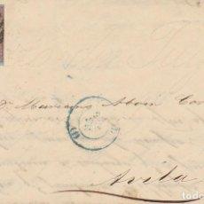 Sellos: SELLO 40 : ISABEL II: A AVILA.1855.. Lote 172020597