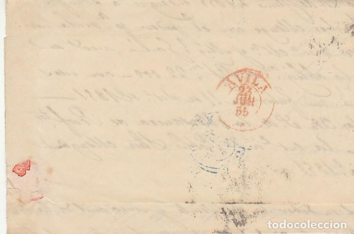 Sellos: Sello 40 : ISABEL II: a AVILA.1855. - Foto 2 - 172020597
