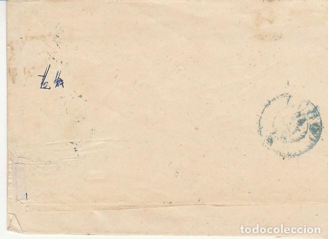 Sellos: FRAGMENTO: Sello 48-B. ISABEL II. CORUÑA a LUGO. 1859. - Foto 2 - 172237882