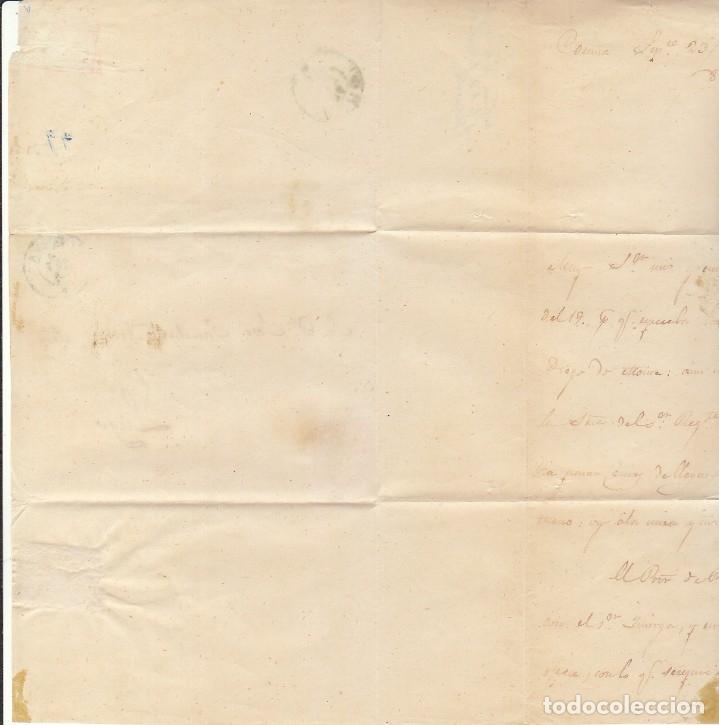 Sellos: FRAGMENTO: Sello 48-B. ISABEL II. CORUÑA a LUGO. 1859. - Foto 3 - 172237882