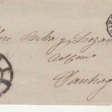 Sellos: SELLO 58. ISABEL II : BARCELONA A SANTIAGO. 1862.. Lote 172241467