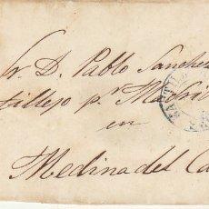Sellos: FRAGMENTO :SELLO 44. ISABEL II.CASTILLEJO (SEGOVIA) A MEDINA DEL CAMPO.1856.. Lote 172406828
