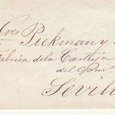 Sellos: SOBRE: SELLO 48. ISABEL II. CADIZ A SEVILLA. 1859.. Lote 172409085