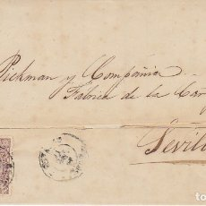 Sellos: SELLO 96.ISABEL II. RIVADEO A SEVILLA. 1869.. Lote 172705955