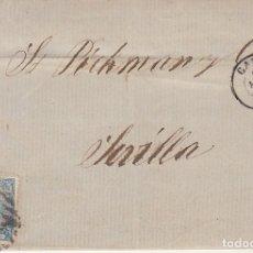 Sellos: SELLO 88. CADIZ A SEVILLA. 1866.. Lote 172706497