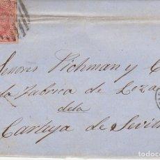 Sellos: SELLO 64. ISABEL II. BARCELONA A SEVILLA. 1864.. Lote 172712265
