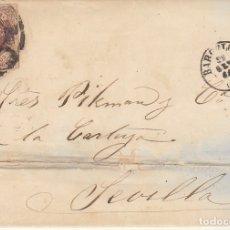 Sellos: SELLO 58. ISABEL II. BARCELONA A SEVILLA. 1862.. Lote 172712575