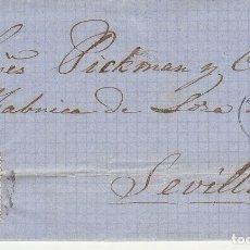 Sellos: SELLO 81. ISABEL II. MALAGA A SEVILLA.1866.. Lote 172776983