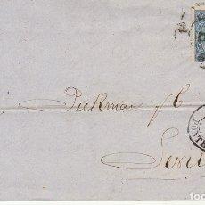 Sellos: SELLO 75. ISABEL II. VIGO A SEVILLA. 1865.. Lote 172778397