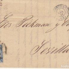 Sellos: SELLO 81. ISABEL II. CORUÑA A SEVILLA. 1866.. Lote 172779518