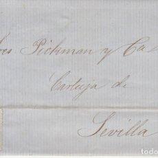 Sellos: SELLO 81. ISABEL II. PUERTO DE SANTA MARIA A SEVILLA. 1866. . Lote 172846608