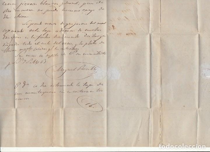 Sellos: Sello 64. ISABEL II. SANTOÑA a SEVILLA.1864. - Foto 5 - 172847022