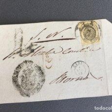 Sellos: LOTE DE 3 FRONTALES DE CARTAS SOBRES DE LOS BARRIOS , CADIZ 1862 - 1861 , AL SR. ALCALDE . Lote 173065328