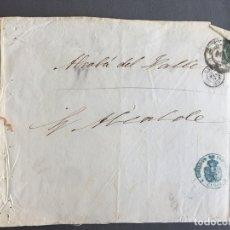 Sellos: LOTE DE 3 CARTAS , SOBRES DE ALCALÁ DEL VALLE , CADIZ 1859, 1860 , AL SR. ALCALDE N. 26. Lote 173071379