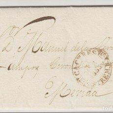 Sellos: 1853 CARTA PREFILATÉLICA DE CÁCERES A MÉRIDA. FECHADOR BAEZA, PE: 10 DE CÁCERES EN MARRÓN. Lote 173130975