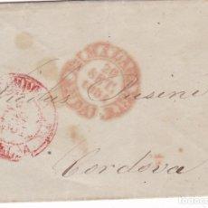 Sellos: F6-29- FALSO FILATELICO. MALAGA -CORDOBA 1851. Lote 173660675