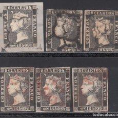 Sellos: ESPAÑA, 1850 EDIFIL Nº 1, 1A, . Lote 174098243