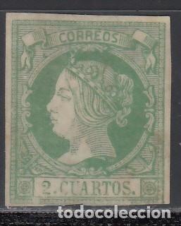 ESPAÑA, 1855 EDIFIL Nº 47 (*) (Sellos - España - Isabel II de 1.850 a 1.869 - Nuevos)