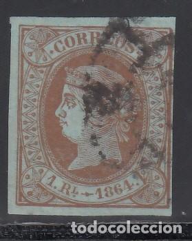 ESPAÑA, 1864 EDIFIL Nº 67 (Sellos - España - Isabel II de 1.850 a 1.869 - Usados)