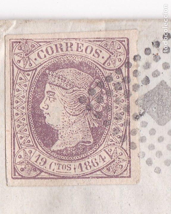 Sellos: F8-1- FALSO FILATELICO. Envuelta OVIEDO -FRANCIA 1864 - Foto 2 - 175179463