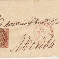 Sellos: SELLO 12. ISABEL II. MERIDA. 1852. Lote 175195930