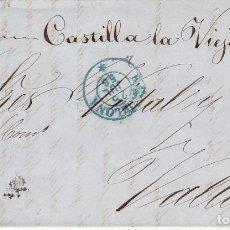 Sellos: SELLO 48. ISABEL II. BARCELONA A VALLADOLID. 1856.. Lote 175197007