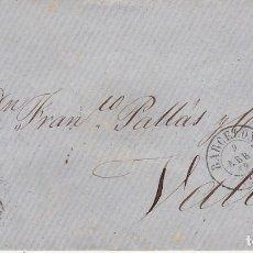 Sellos: SOBRE :SELLO 48. ISABEL II. BARCELONA A VALLS. 1859. Lote 175212118