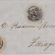 Sellos: SELLO 96. ISABEL II. TAFALLA A ZARAGOZA.1868. Lote 175214062