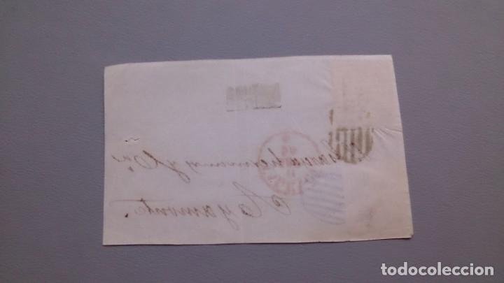 Sellos: ESPAÑA - 1854 - ISABEL II - FRONTAL VALENCIA-AYAMONTE 1854 - CON 2 EDIFIL 25. - Foto 2 - 175273129