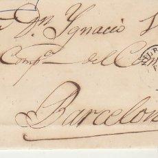 Sellos: SELLO 81. BILBAO A BARCELONA. 1867.. Lote 175326957