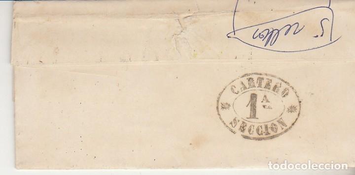 Sellos: Sello 81. BILBAO a BARCELONA. 1867. - Foto 2 - 175326957