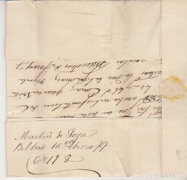 Sellos: Sello 81. BILBAO a BARCELONA. 1867. - Foto 3 - 175326957