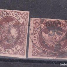 Sellos: SS11- CLÁSICOS EDIFIL 58 /58A RUEDA DE CARRETA 56. Lote 175698820