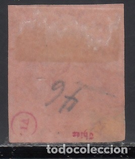 Sellos: ESPAÑA, 1860 - 1861 EDIFIL Nº 54, 19 cuartos. Isabel II - Foto 2 - 178157378